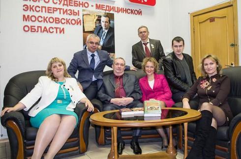 Фото на память с писателем Александром Тамониковым